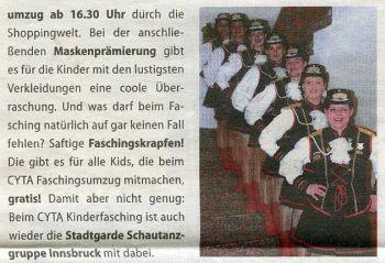 Stadtblatt Februar 2012