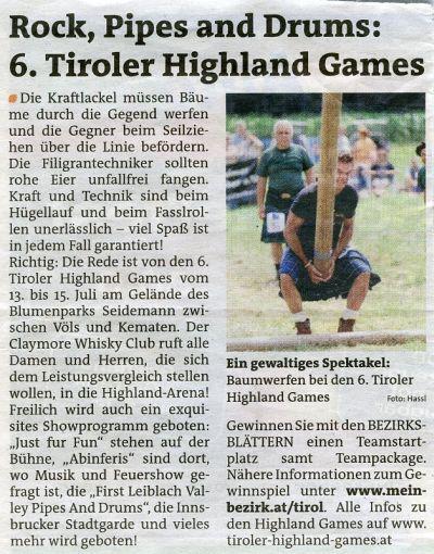 Stadtblatt Juli 2012