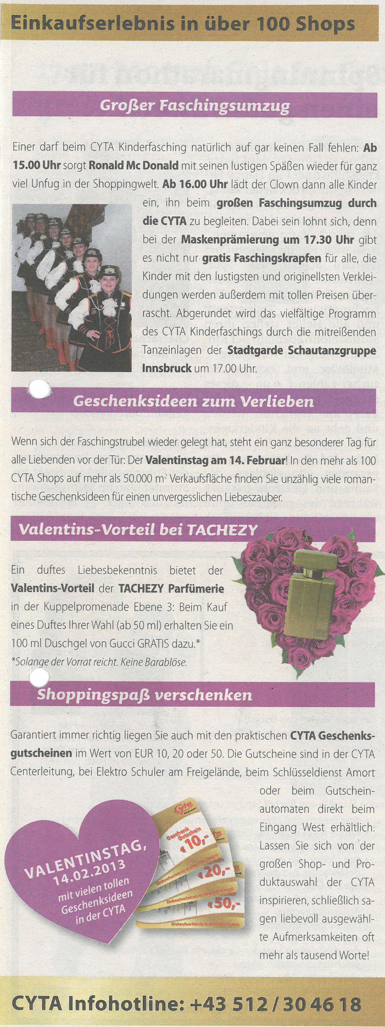 Stadtblatt Innsbruck 060213