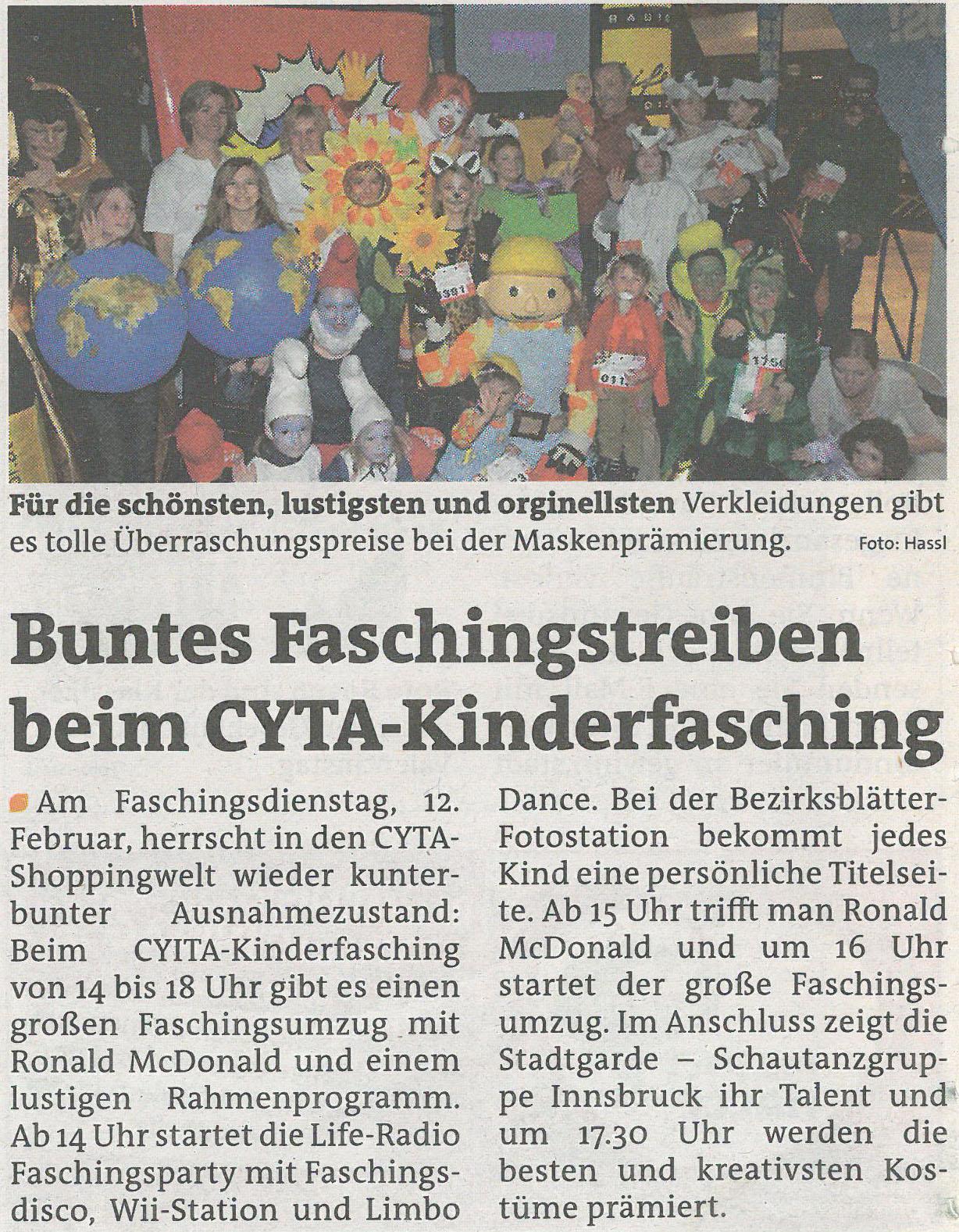 Stadtblatt Innsbruck 120213
