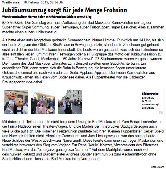 Lausitzer Rundschau Online