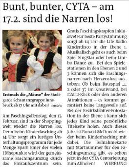 Stadtblatt Innsbruck 070215
